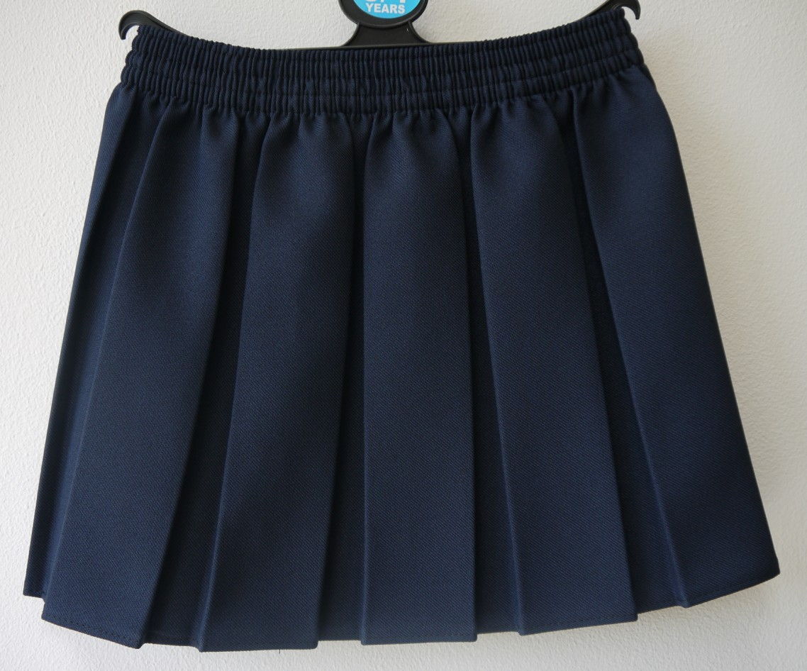 This box-pleat Bed Skirt from Sweet Jojo Designs is a classic solid navy. It will add a finished look to any bedroom, and hide your under-bed storage.