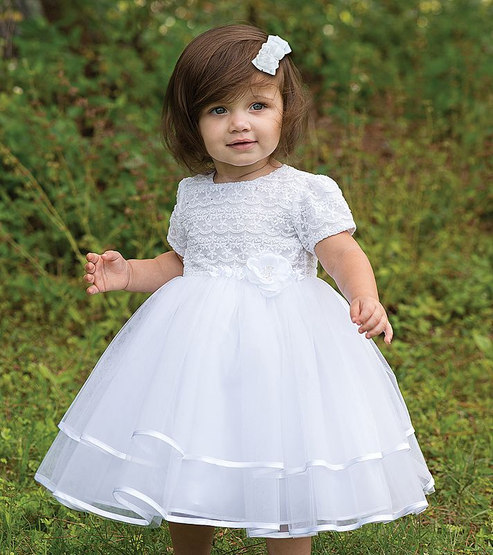 how to purchase sleek new product Sarah Louise Christening Dress 070015